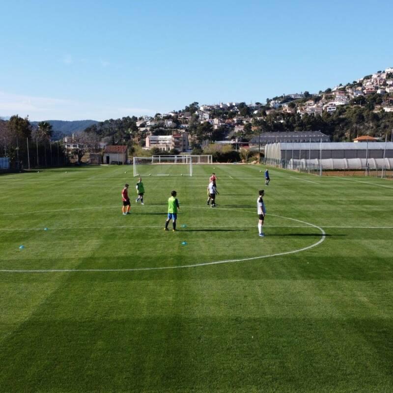 Inspirationall image for Barcelona Football Project – Santa Susanna